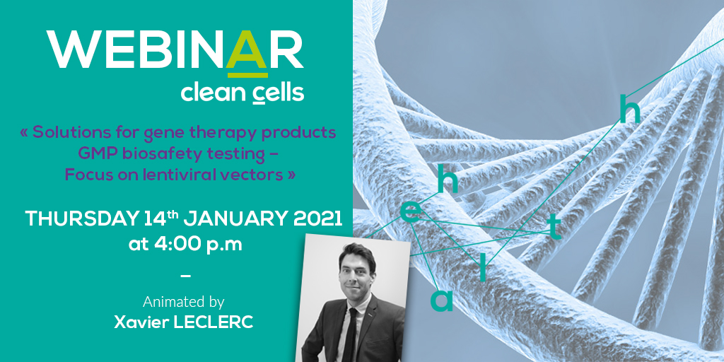 Webinar Clean Cells - Gene Therapy